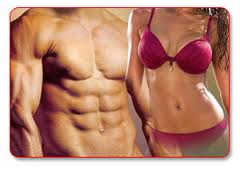Man and Woman abs