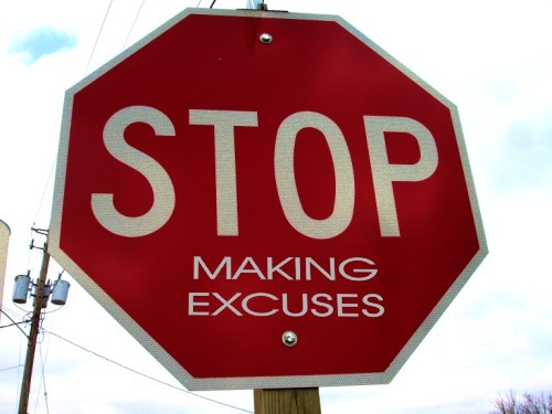 Quick Tip #13 ~ What's Your Excuse?