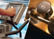 Cardio before or after weights